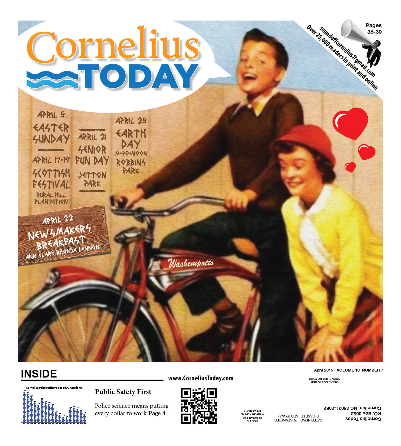 Cornelius Today - April 2015