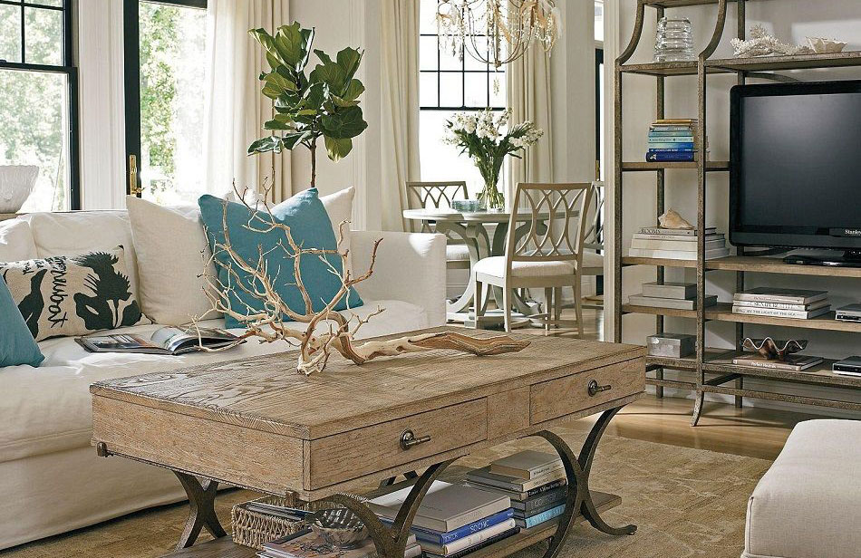 Coastal modern is simple and relaxing all year long